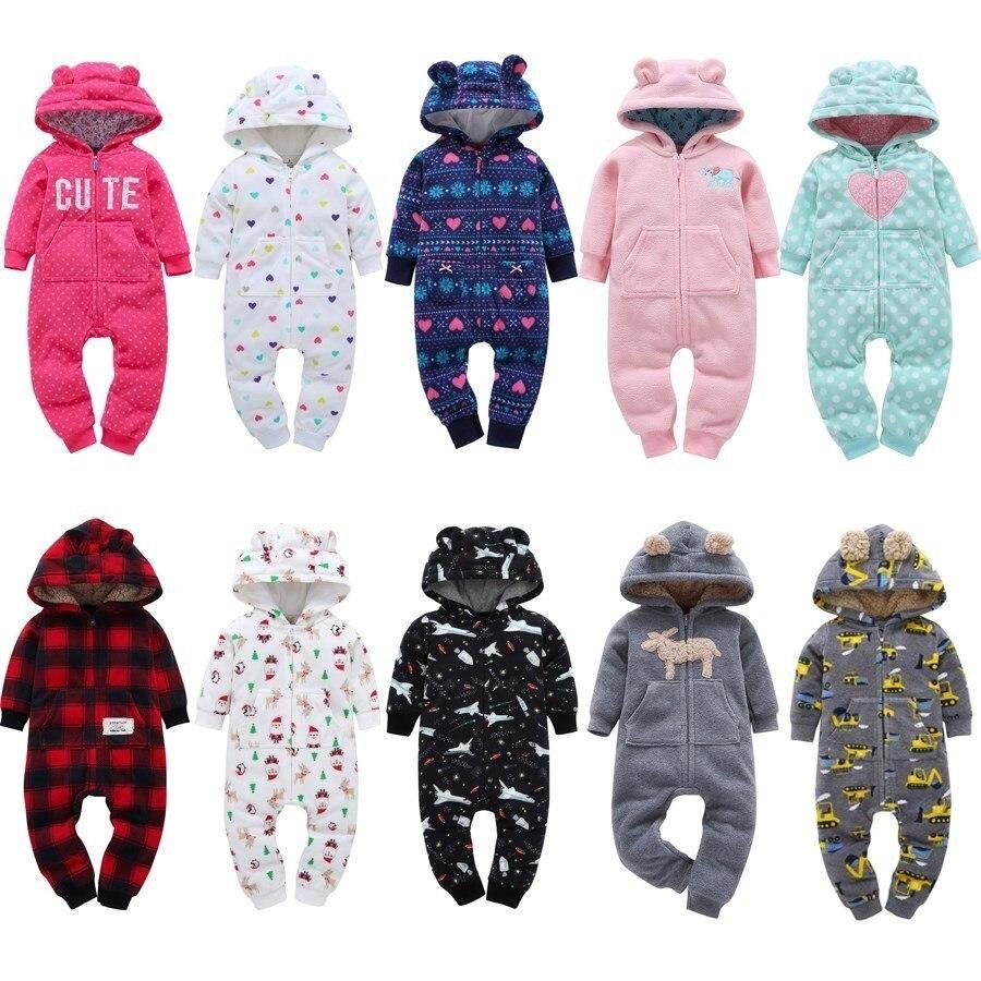 Winter Baby Strampler Baumwolle Baby Jungen Kleidung Warme Neugeborenen Baby Kleidung Cartoon Baby Mädchen Kleidung Säuglings Overalls Kinder Kleidung