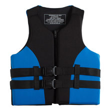 Outdoor Sport Neopreen Vissen Reddingsvest Veiligheid Vest Survival Utility Vest Watersport Kajakken Varen Drifting Zwemvest(China)