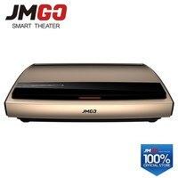 JMGO 4 K лазерный проектор S3, 3840x2160 точек/дюйм, 3000 ANSI люмен. 300 дюймов огромный экран для домашнего кинотеатра. Видео проектор. WI FI/Bluetooth