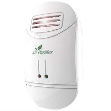 New Hot Mini Air Purifier Freshener sanitizer Plug-in Odor Smoke Odor Smell Bacteria Dust Eliminator Anion Sterilization Air C ce emc lvd fcc air ozonizer for odor eliminator