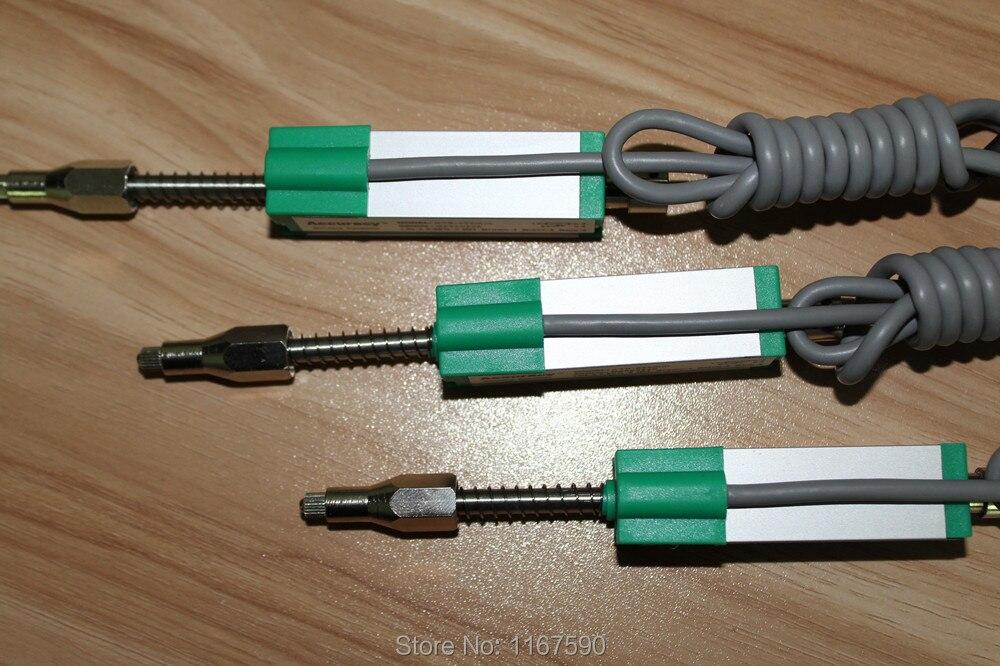 KTR-125 mm Transdutor de Deslocamento Linear Escala de Régua Eletrônica Em Miniatura Primavera Rearme Automático