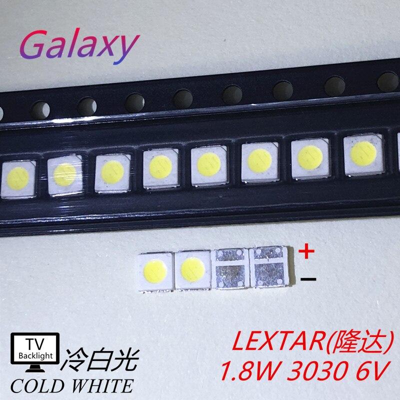 Lextar 6V High Power LED Backlight 1 8 W 3030 6 V Cool white 150 187LM