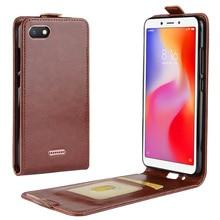 JONSNOW Leather Case for For Xiaomi Redmi Note 6 Pro 5.93 inch PU Phone Flip Cover Pro/Note 5A/Mi8/Mi A2 Lite