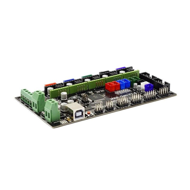 MKS-GEN V1.4 Controller Moederbord + MKS TFT32 Lcd-scherm + 6 Pcs Eindschakelaar + 5 Pcs 4988 Driver Kit voor 3D Printer