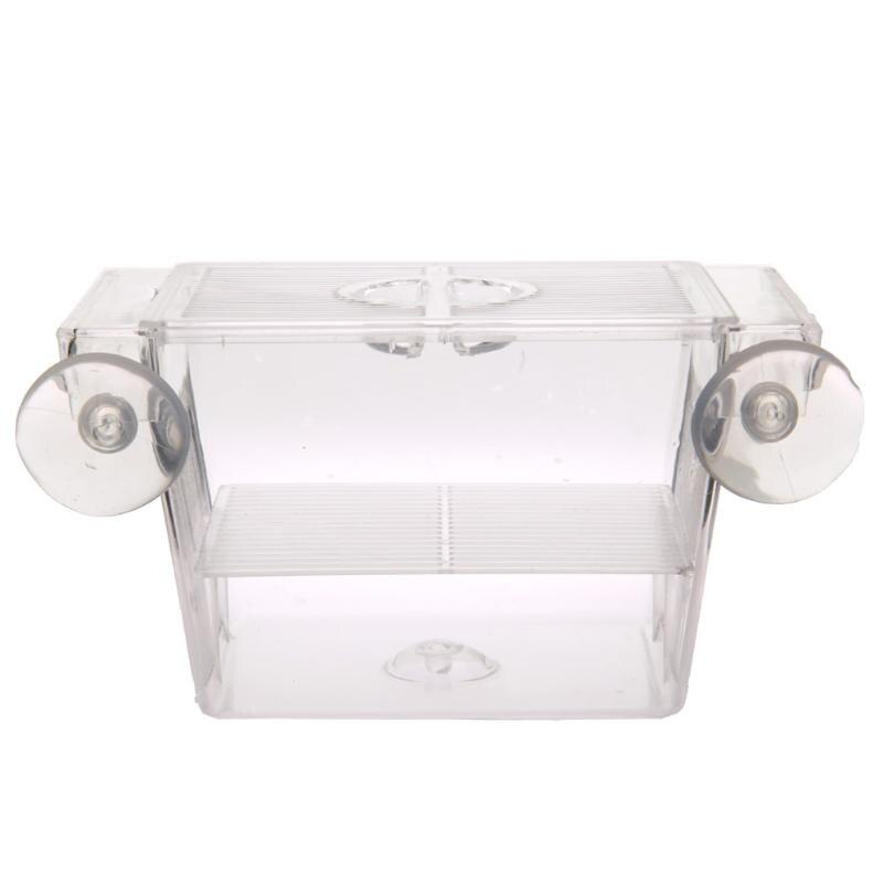Прозрачный Акриловый Аквариум разведение изоляционная коробка аквариум инкубатор держатель