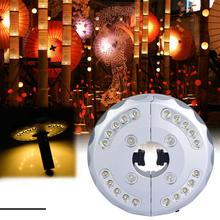 цена на Outdoor Patio Umbrella Light 24 LED Umbrella Pole Lamp For Patio Umbrellas Camping Tents Outdoor Use parasol garden