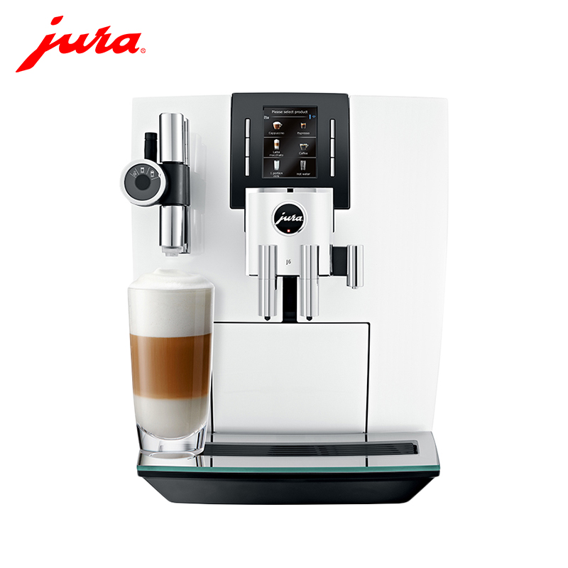 Coffee Machine Jura J6 Piano white capuchinator coffee maker automatic kitchen appliances goods кофемашина jura j6 piano white 15165