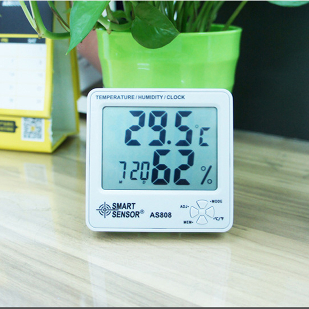 Back To Search Resultstools Smart Sensor As808 Digital Hygrometer Thermometer Humidity Temperature Moisture Meter Humidity Air Tester To Win A High Admiration Measurement & Analysis Instruments