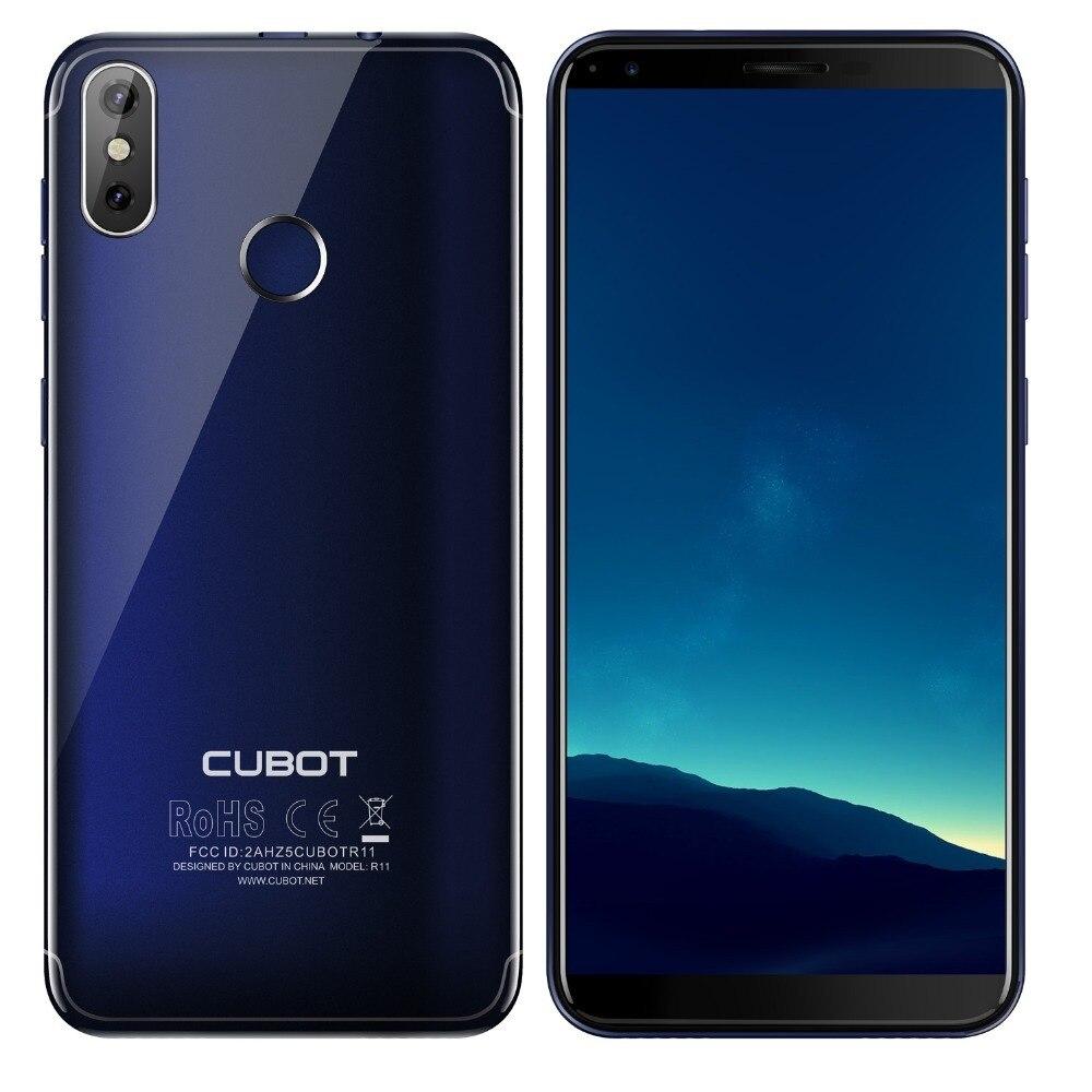 Cubot R11 Android 8,1 de 5,5 3G Smartphone 18:9 HD + pantalla MT6580 teléfono móvil Quad Core 2G RAM 16G ROM doble a las cámaras de los teléfonos celulares - 4