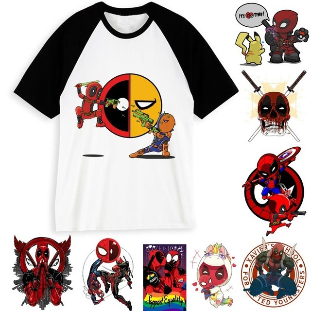 6700054629654 US $7.85 40% OFF|News Man's Deadpool T Shirt Funny Cartoon Dead Pool Anime  T shirt Men Women Movie Deadpool 2 Tshirt Clothing For Male/female-in ...
