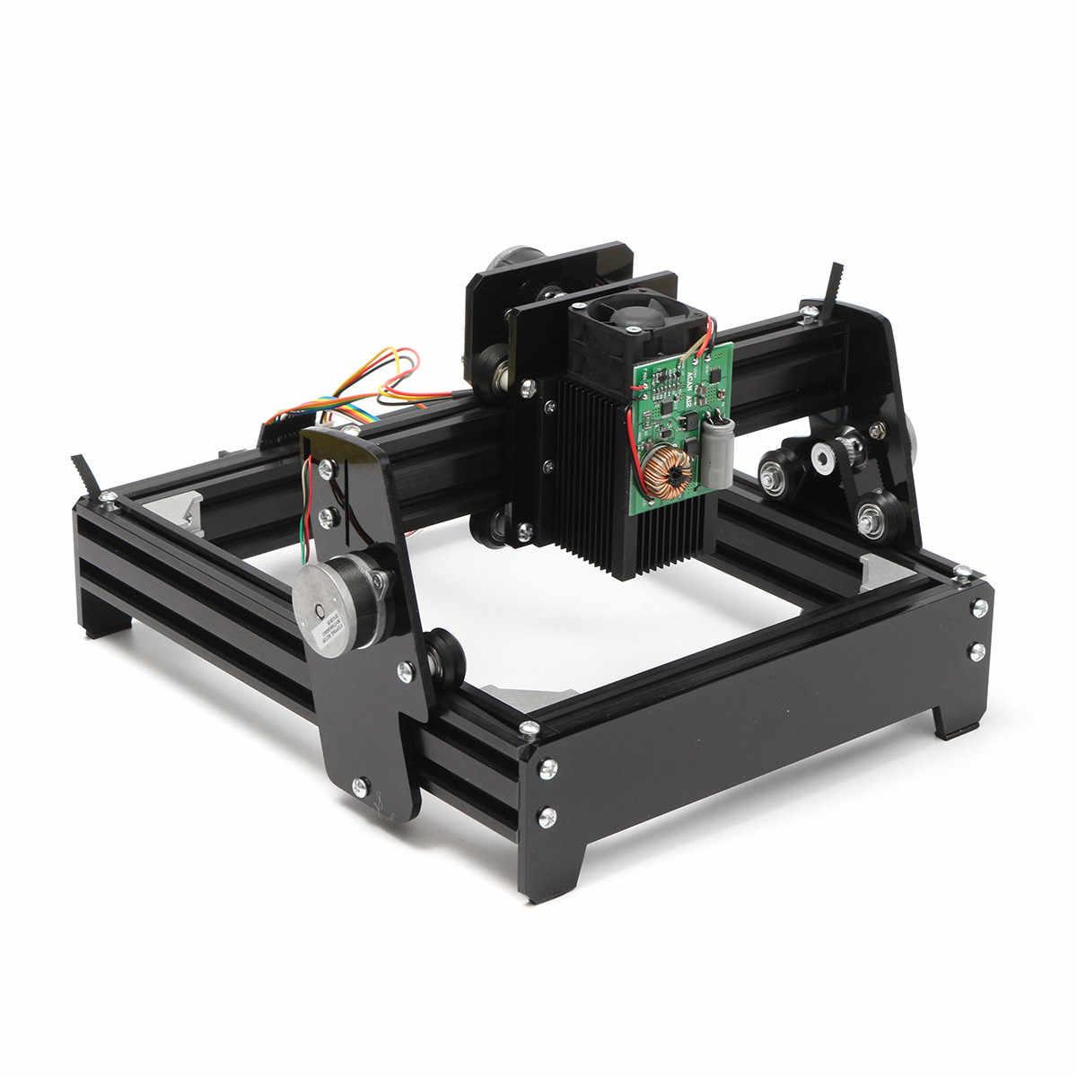 10 W Laser Mesin Ukiran DIY USB Metal Lath Batu Gambar Router Printer Laser Menandai Mesin Router Kayu USB