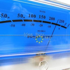 Image 3 - DYKB VU מטר פנל DB רמת כותרת אודיו מגבר כוח מחוון מד שולחן Preamp אודיו מד כוח עם LED תאורה אחורית