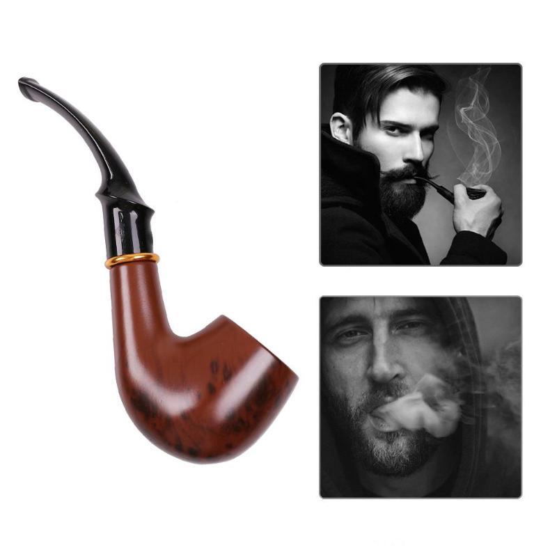 Smoking Pipe Set Tobacco Cigarettes Tube Pipe Base Smoke Gift Accessories