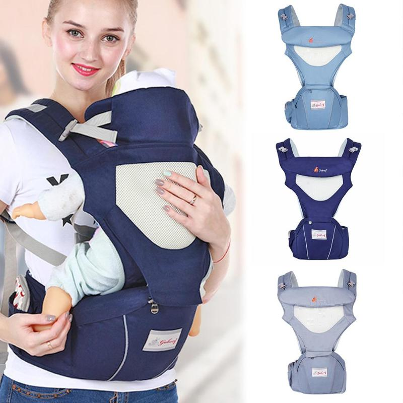Multi functional Baby Carriers Foldable Infant Hipseat Front Facing Ergonomic Wrap Backpacks Travel Kids Carriers For Parents|Backpacks & Carriers| |  - title=