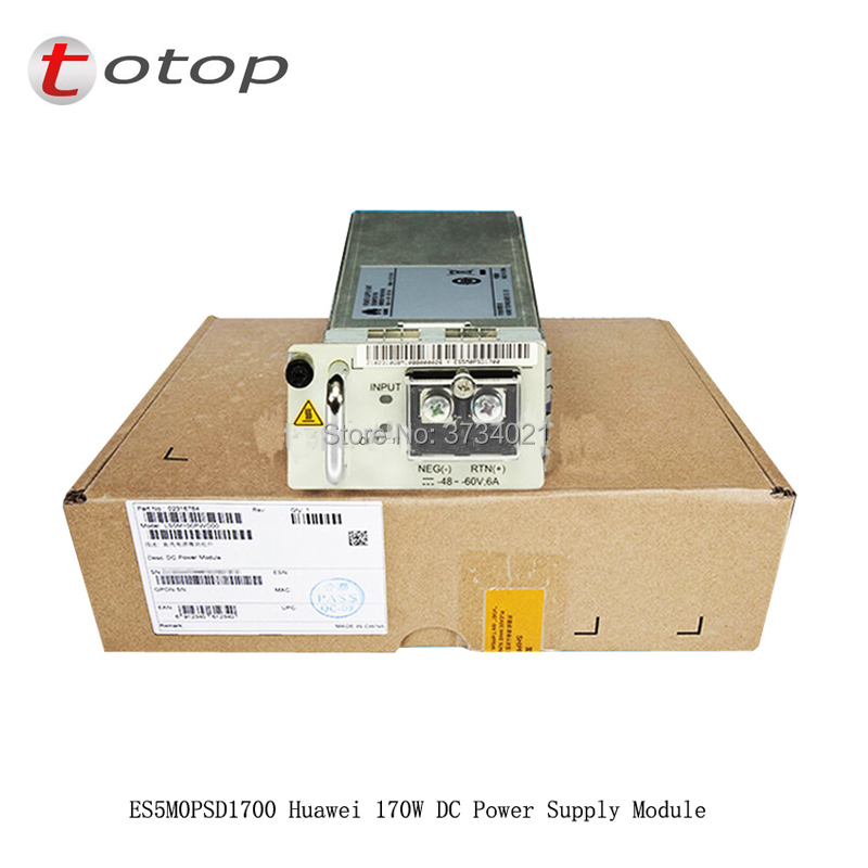 ES5M0PSD1700 Huawei 170W DC Power Supply Module use for S5700series or S6720S-26Q-EI-24SES5M0PSD1700 Huawei 170W DC Power Supply Module use for S5700series or S6720S-26Q-EI-24S