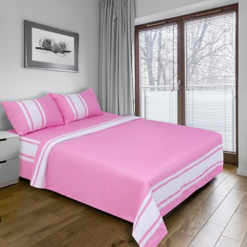 [Available with 10.11] linens euro Derby (pink) [available with 10 11] linens euro pixels beige