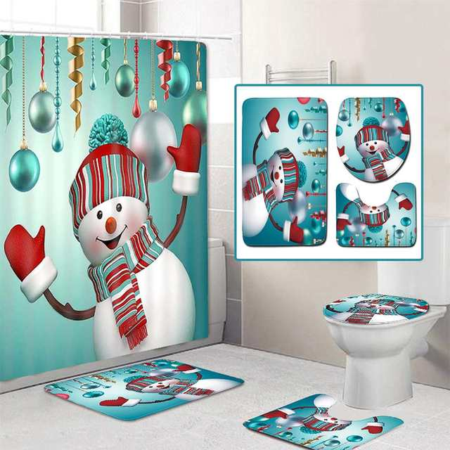 Merry Christmas Bathroom Set 3