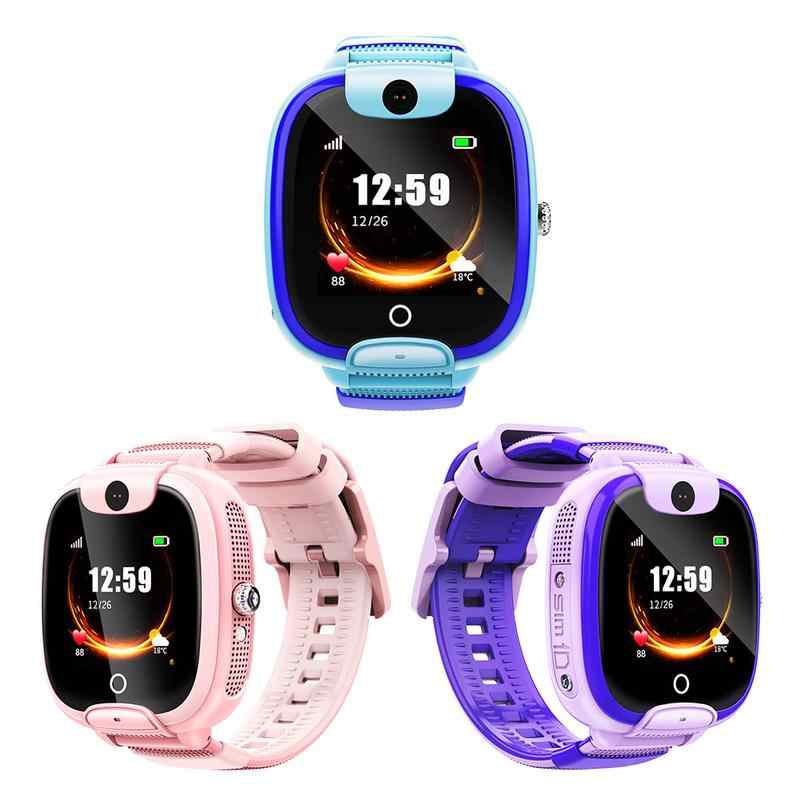 Children's Smart Phone Watch IPS Full-view Waterproof Intelligent Watch LBS Positioning Design Anti Lost Long Service Life