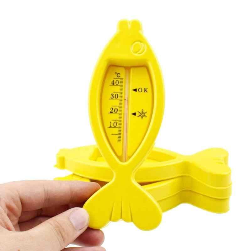 Termômetros de Água do banho de Plástico Flutuante Bonito Forma de Peixe Novo Brinquedo para o Banho Do Bebê Banheira Água Sensor Termômetros Do Bebê Cuidados Com o Bebê nova
