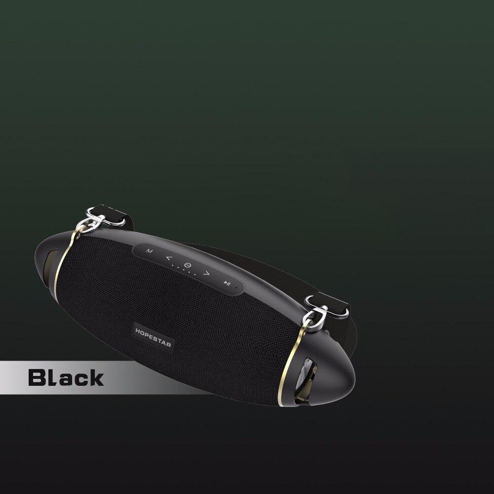 HOPESTAR H20 Rugby 30 W haut-parleur Bluetooth colonne Pc sans fil Portable Mini étanche méga basse stéréo extérieur caisson de basses Tf Usb - 2