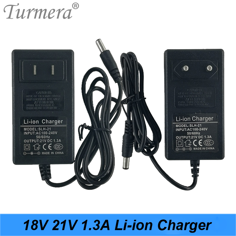 21V 18V 1.3A Lithium Battery Charger Electric Screwdriver 18V 5Series 18650 Lithium Battery Wall Charger DC 5.5  2.1|Chargers| |  - title=