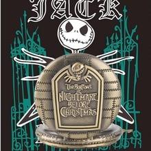 The Nightmare Before Christmas Quartz Pocket Watch Tim Burton Jack Skellington Pendant Retro Bronze Hour Clock Chain Watches цена