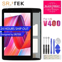 Srjtek For LG G Pad 7.0 V400 LCD Display Touch Screen with Digitizer Sensor Panel Tablet Assembly LD070WX7 V400 Screen