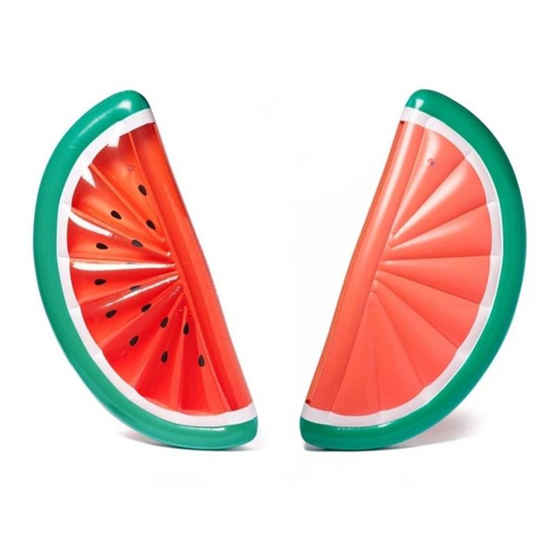 Inflatable Swimming Pool Floating Mat PVC Semi-Circular Watermelon Inflatable Floating Bed Adult Swimming Floating MattressInflatable Swimming Pool Floating Mat PVC Semi-Circular Watermelon Inflatable Floating Bed Adult Swimming Floating Mattress