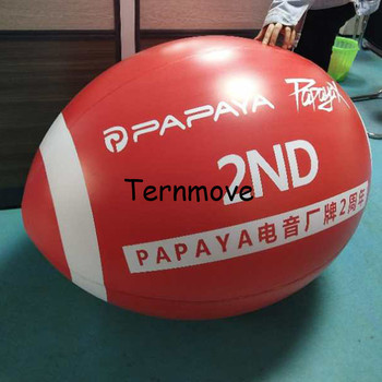 Giant Inflatable Rugby Football replica model For Sports pvc Inflatable Rugby for School Gym Rugby Match фото