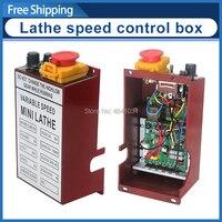 Caja de control de velocidad de torno de 400W y 550 W/caja de control eléctrico CJ0618/caja de montaje de placa de circuito