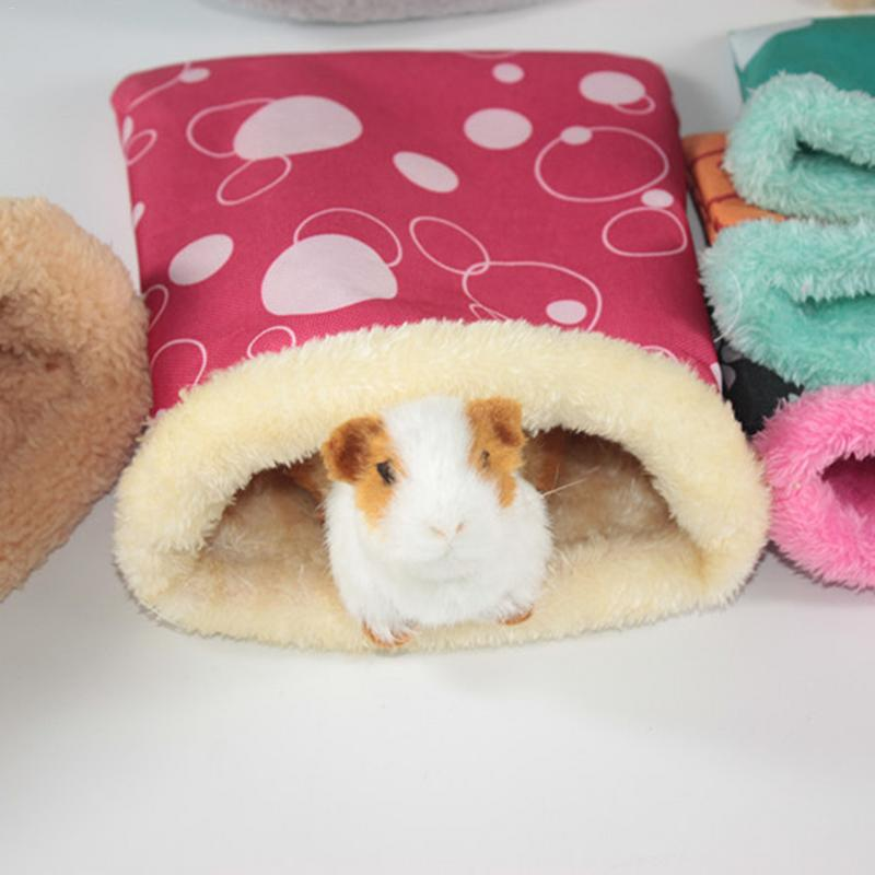 Mice Rat Hamster House Bed Chinchilla Dwraf Hamster Guinea Pig Small Pet Warm Thickening Nest Cave for Small Animal