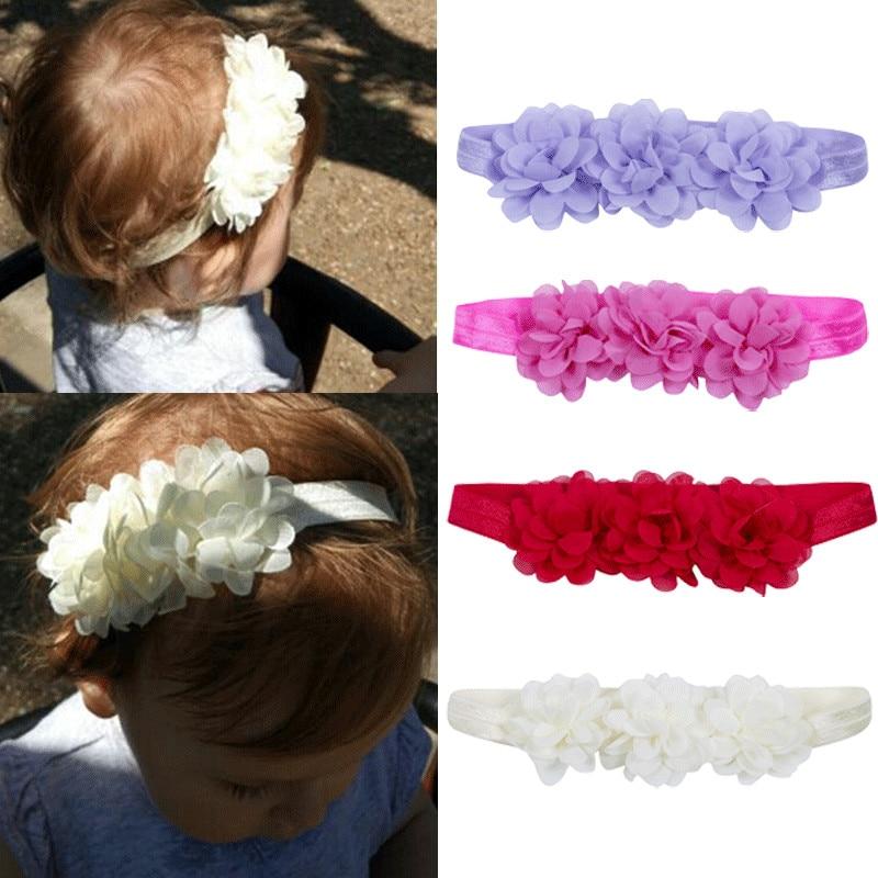 Kids Girl Baby Toddler Bow Headband Hair Band Hair Accessories Headwear Head Wrap