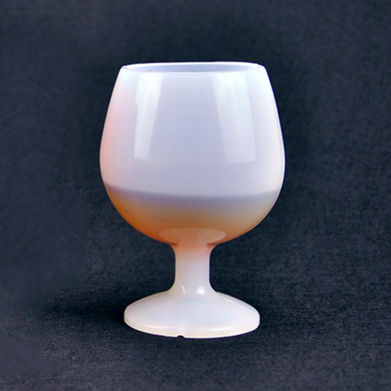 Silicone Wine Cup Whiskey Cocktail Beer Goblet  Outdoor Portable Unbreakable