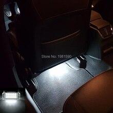 Автомобиль светодио дный-Стайлинг СВЕТОДИОДНЫЙ грузовик лампа для гольфа 4/5/6 Scirocco Tiguan Passat Skoda Fabia Octavia Superb автомобиль footwell свет