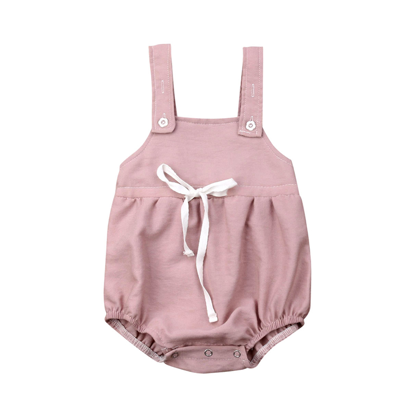 Newborn Baby Girl Cotton   Romper   Jumpsuit Outfit Kids Girls Baby Summer   Rompers   Sunsuit Clothes Overalls Playsuit
