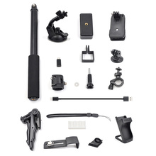For DJI OSMO Pocket Gimbal Handheld Tripod Bag Clip Extended Stick Bike ClipAdapter Phone osmo action