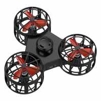 Dropshipping 1pc High quality Tiny Toy Drone Flying Fidget Spinner Stress Relief Gift Flying USB charging Gyroscop Toy