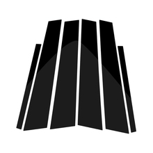 цена на For BMW 1 3 5 7 Series F30 F07 F10 X3 F25 X5 E70 E71 F15 X6 F16 Glossy Black Car Window B-pillars Moulding Mirror Cover
