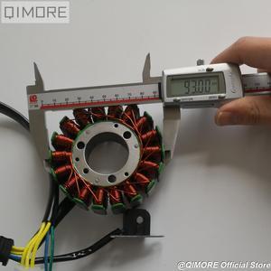 Image 3 - Магнитный статор 93 мм с пикапом для скутера Majesty YP250 Linhai AEOLUS VOG 250 257 260 LH170MM xingyΦ