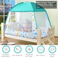 Folding Baby Bed Mosquito Nets, Portable Folding Baby Bedding Crib Netting, Mosquito Insect Net Safe Mesh For Baby Girl Boy