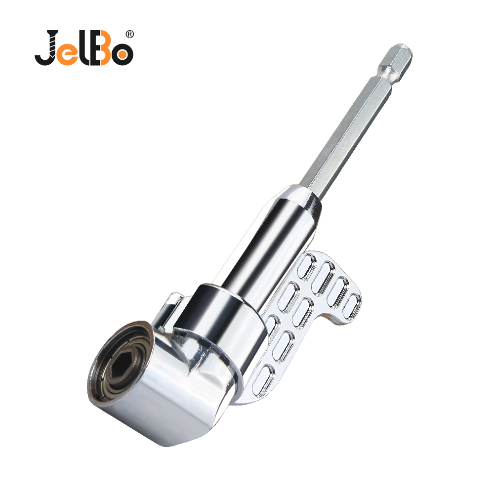 JelBo 105 Degree Right Angle Drill Bit 1/4 Hex Shank Adaptor Screwdriver Wrench Socket Holder Adapter Mini Extension Drill BitJelBo 105 Degree Right Angle Drill Bit 1/4 Hex Shank Adaptor Screwdriver Wrench Socket Holder Adapter Mini Extension Drill Bit