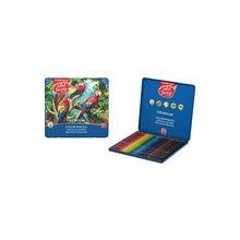 Цветные карандаши ErichKrause ArtBerry® Premium, 24 цвета, металлическая коробка