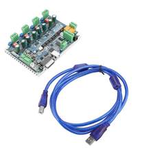 New CNC 4 Axis USB Mach3 Stepper Motor Driver Controller Interface Board(China)