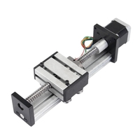 New Ball Screw Linear Cnc Slide Stroke 100Mm Stage Actuator Stepper Motor
