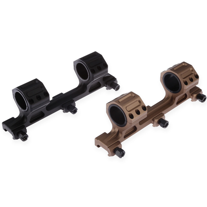 Chasse de Tir Spotting Scope Mount Adapter Support 25mm 30mm Anneaux Supports Airsoft Accessoires AR15 Picatinny Carabine