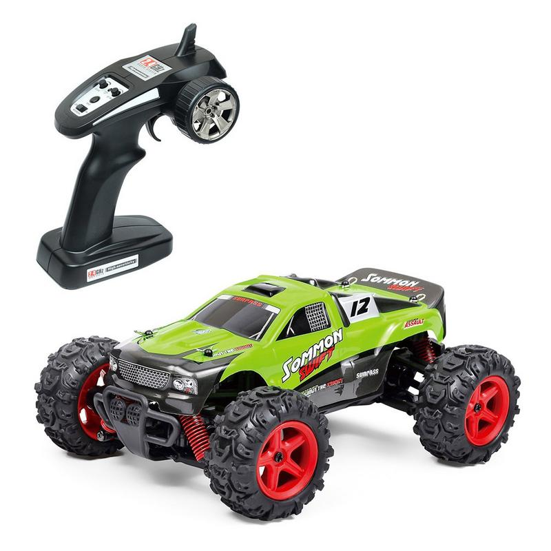 2.4GHz 1:24 Scale Racing Cars Car Supersonic Monster Truck Off-Road Vehicle Buggy Electronic Remote Control Toy for Kid Boys2.4GHz 1:24 Scale Racing Cars Car Supersonic Monster Truck Off-Road Vehicle Buggy Electronic Remote Control Toy for Kid Boys