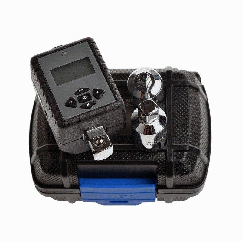 Купить с кэшбэком FINDER Adjustable High Precision Digital Torque Wrench Set Ratchets Professional Electronic Torque Wrench Auto Bike Car Repair