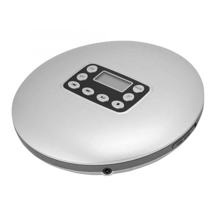 Wireless Hi-Fi Stereo Music Player and CD Player with Headphone CD Support CD WMA Vbestlife Hott Portable CD Player White CD-RW MP3