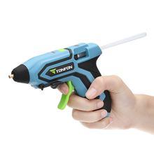 XIAOMI Tonfon 3,6 V 2000mA беспроводной горячий клей пистолеты USB перезаряжаемый портативный быстрая зарядка расплава клея пистолеты наборы с 10 клеем палочки