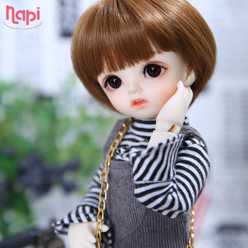 Napi Open-eyed Karou BJD SD Doll 1/6 YoSD Body Model Baby Girls Boys Resin Toy High Quality Fashion Shop Luodoll Fixed-teeth 1